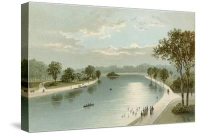 The Serpentine, from the Bridge