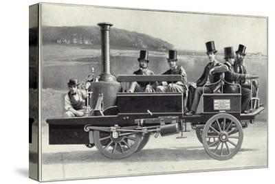 The Yarrow-Hilditch Steam Carriage