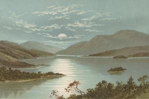 Upper End - Loch Lomond by English School