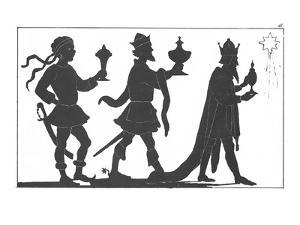 Silhouette of the Three Kings by English