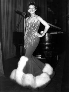 English Singer Shirley Bassey C. 1957