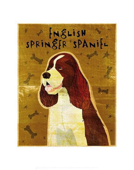English Springer Spaniel-John Golden-Art Print