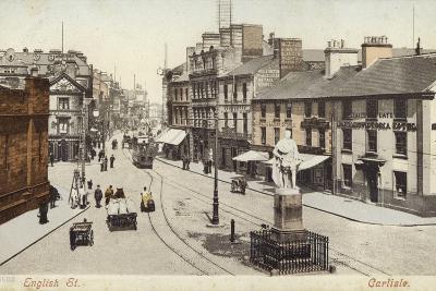 English Street, Carlisle--Photographic Print