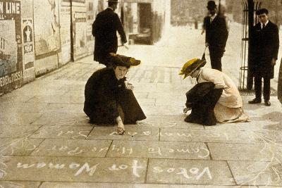 English Suffragettes, 1912--Photo