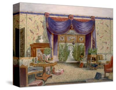 The Chinese Room at Middleton Park, Oxfordshire, 1840 (W/C on Paper)