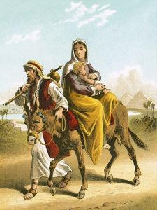 The Flight into Egypt by English