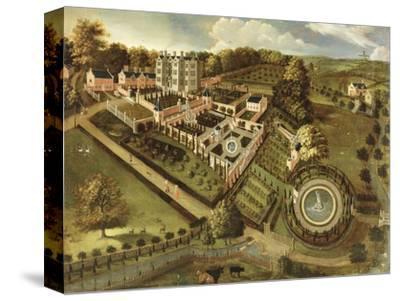 The House and Garden of Llanerch Hall, Denbighshire, c.1662-72