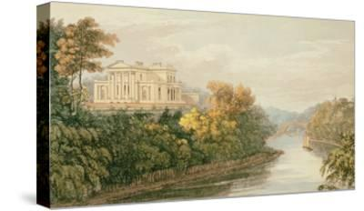 The Seat of G.B. Greenough Esq., Regent's Park, from Ackermann's 'Repository of Arts'