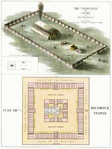 The Tabernacle and Plan of Solomon's Temple by English