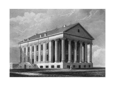 "Engraving ""Capitol, Richmond, Virginia""--Giclee Print"