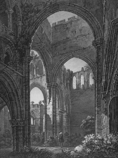 Engraving of Lanercost Priory Founded by Robert de Vallibus in 1116--Photographic Print