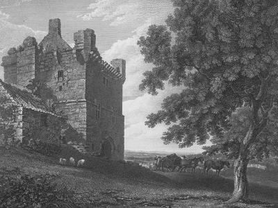 Engraving of the Gateway Tower of Morpeth Castle--Photographic Print