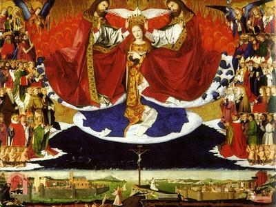 The Coronation of the Virgin, 1454