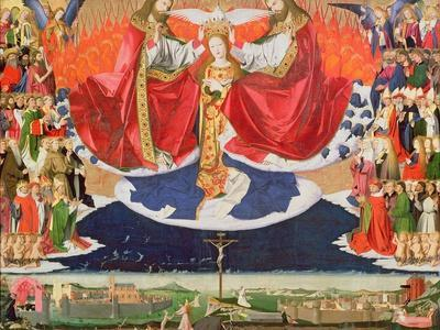 The Coronation of the Virgin, Completed 1453