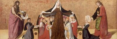 The Virgin of Mercy of the Cadard Family, 1453