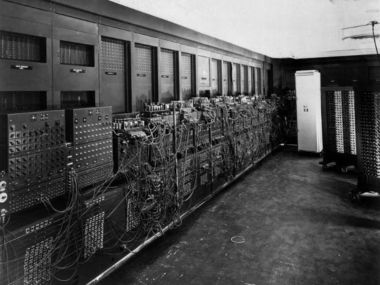 Eniac Computer Was the First General-Purpose Electronic Digital Computer--Photo