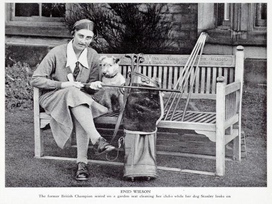Enid Wilson, British ladies champion (1931-33), c1930s-Unknown-Giclee Print