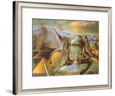 Enigma Without End-Salvador Dalí-Framed Art Print