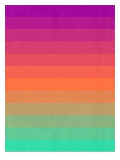 enjoy color-Spires-Art Print