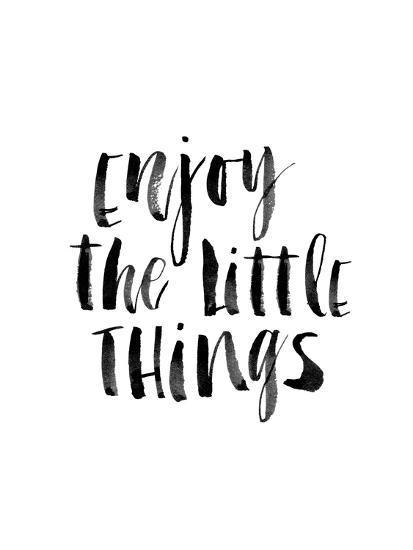Enjoy the Little Things-Brett Wilson-Art Print