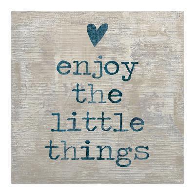 Enjoy the little things-Jamie MacDowell-Giclee Print