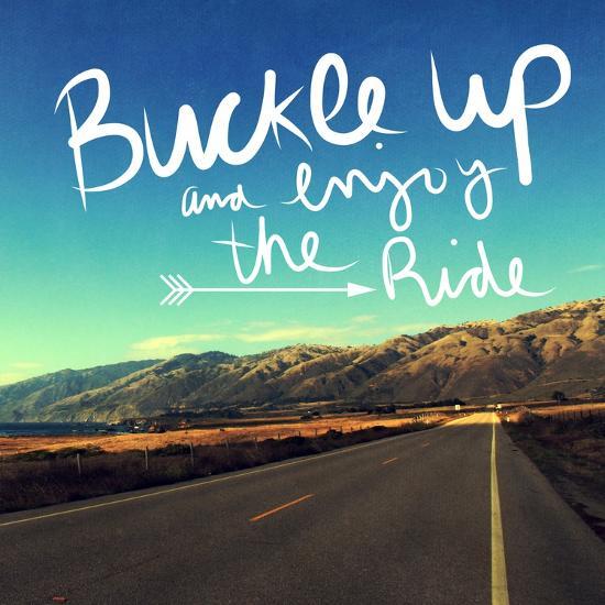 Enjoy the Ride-Linda Woods-Art Print