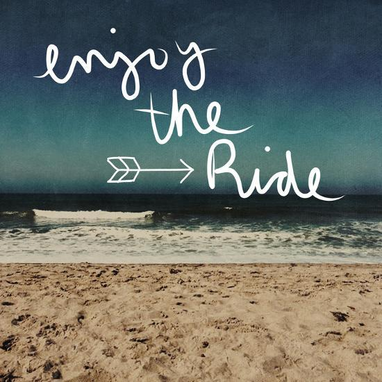 Enjoy the Ride-Linda Woods-Art Print