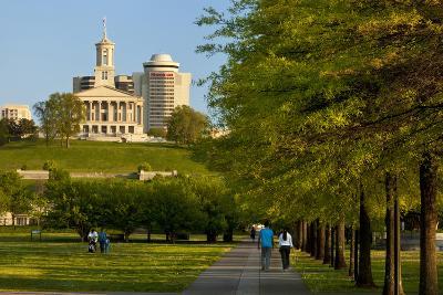 Enjoying Bicentennial Park, Nashville, Tennessee, USA-Brian Jannsen-Photographic Print
