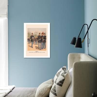 Enlisted Men Staff And Artillery In Full Dress Art Print H A Ogden Art Com