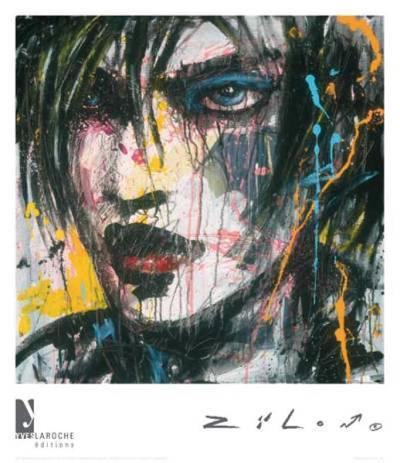 Ennui T.V.-Zilon-Art Print