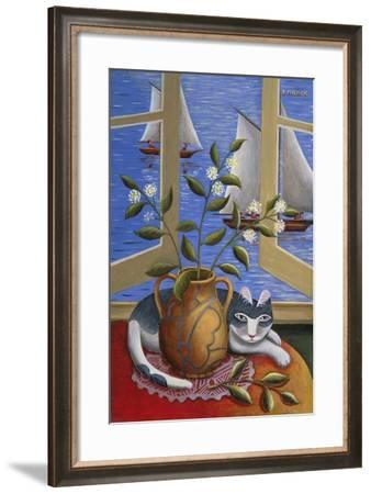 Ennui-Jerzy Marek-Framed Giclee Print
