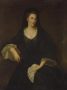 Portrait of Mary Fitzgerald, Dowager Countess of Fingall, C.1735 by Enoch Seeman