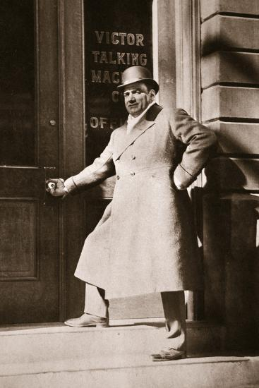 Enrico Caruso, Italian opera singer, USA, 6 November, 1909-Unknown-Photographic Print