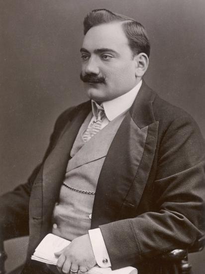 Enrico Caruso Italian Opera Singer-W&d Downey-Photographic Print