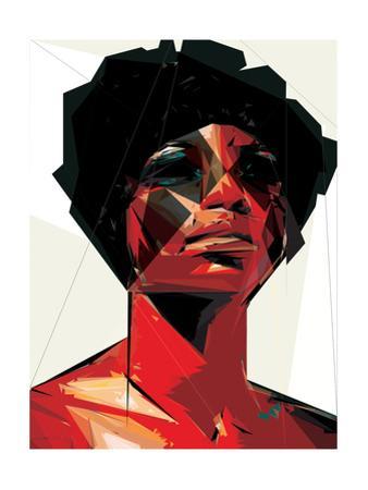 Black Woman 6 by Enrico Varrasso