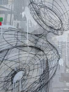 Silver Swirl 3 by Enrico Varrasso