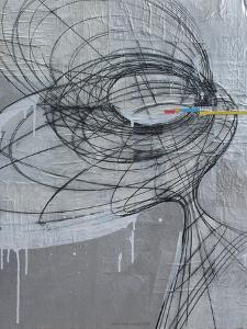 Silver Swirls 1 by Enrico Varrasso