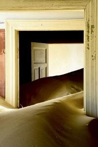 Abandoned House Full of Sand. Kolmanskop Ghost Town, Namib Desert Namibia, October 2013 by Enrique Lopez-Tapia
