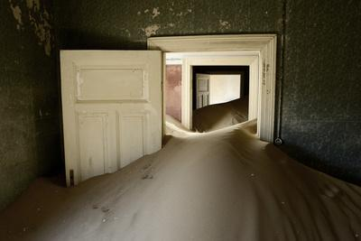 Abandoned House Full of Sand
