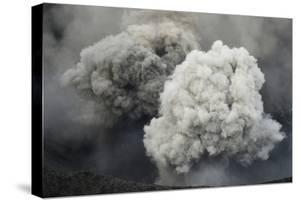 Ash Cloud from Eruption of Yasur Volcano, Tanna Island, Vanuatu, September 2008 by Enrique Lopez-Tapia