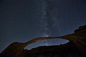 Milky Way over Landscape Arch, Arches Np, UT by Enrique R Aguirre Aves