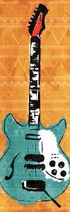 Aztec Guitar by Enrique Rodriquez Jr.