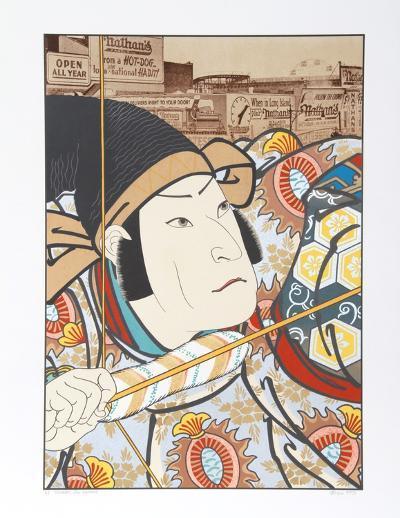 Ensaburo (After Kunishige)-Michael Knigin-Limited Edition