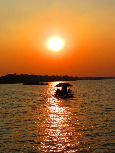 Entardecer Com Céu Amarelo No Rio Zambezi- superbbs-Photographic Print