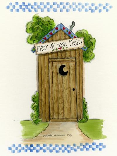 Enter at Your Own Risk-Debbie McMaster-Giclee Print