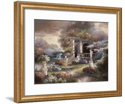 Enter the Light-James Lee-Framed Art Print