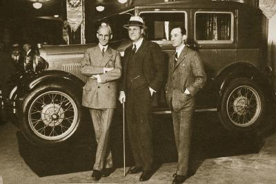 Enter the New Ford, 1927--Photographic Print