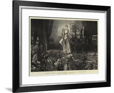 Entertainment at the Brompton Hospital for Consumption-Arthur Hopkins-Framed Giclee Print