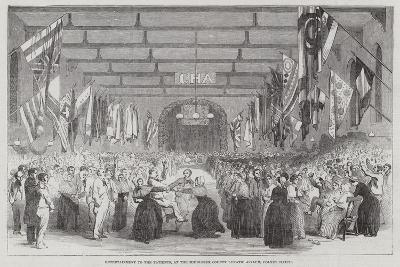 Entertainment to the Patients, at the Middlesex County Lunatic Asylum, Colney Hatch--Giclee Print