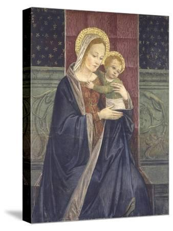 Enthroned Madonna with Child, 15th C
